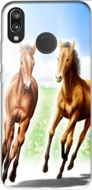 Horse And Mare Case for Huawei P20 Lite / Nova 3e