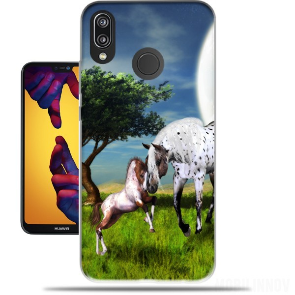 Case Horses Love Forever for Huawei P20 Lite / Nova 3e