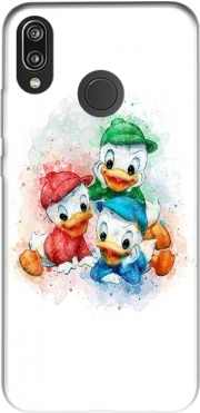 Huey Dewey and Louie watercolor art Huawei P20 Lite Case