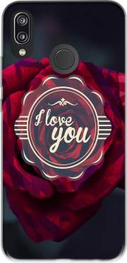 I LOVE YOU Case for Huawei P20 Lite / Nova 3e
