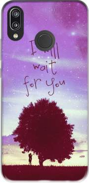 I Will Wait for You Case for Huawei P20 Lite