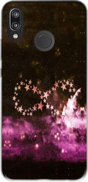 Infinity Stars purple Case for Huawei P20 Lite