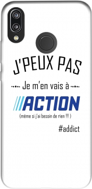 Je peux pas jai action Case for Huawei P20 Lite
