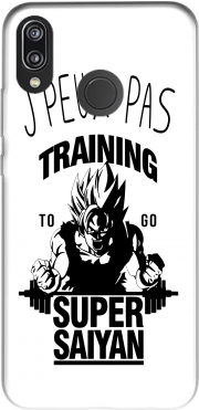 Je peux pas Training to go super saiyan Case for Huawei P20 Lite