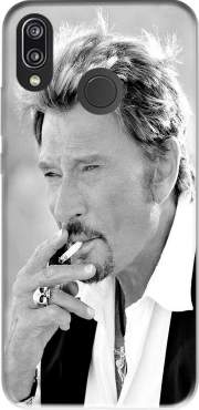johnny hallyday Smoke Cigare Hommage for Huawei P20 Lite
