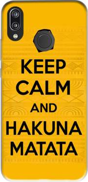 Keep Calm And Hakuna Matata Case for Huawei P20 Lite / Nova 3e