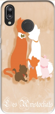 Les aristochats minimalist art Case for Huawei P20 Lite