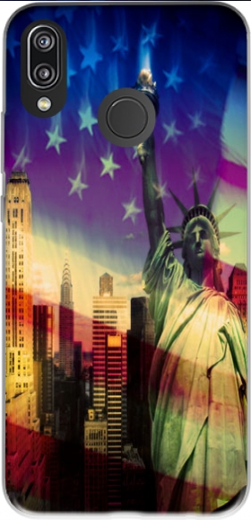 Case Statue of Liberty for Huawei P20 Lite / Nova 3e