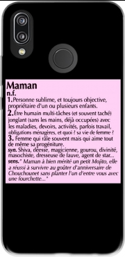 Maman definition dictionnaire Huawei P20 Lite Case