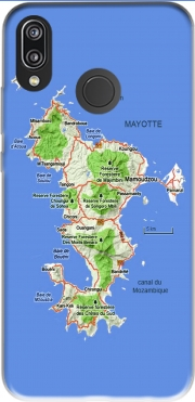 Mayotte Carte 976 Huawei P20 Lite Case