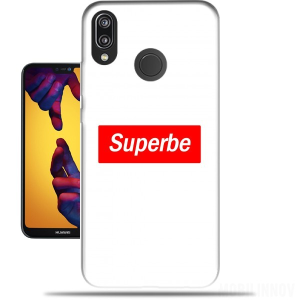 info for 1d87a d15ed Message Humor Superb Supreme Parody case for Huawei P20 Lite