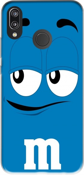 Case M&M's Blue for Huawei P20 Lite