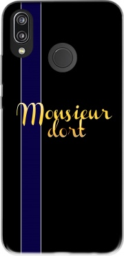 Monsieur dort Case for Huawei P20 Lite
