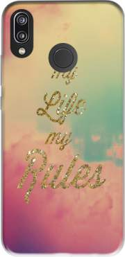 My life My rules Case for Huawei P20 Lite / Nova 3e