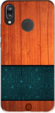 Natural Wooden Wood Bamboo Case for Huawei P20 Lite