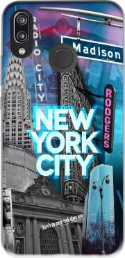 New York City II [blue] Case for Huawei P20 Lite / Nova 3e