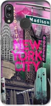 New York City II [pink] Case for Huawei P20 Lite / Nova 3e