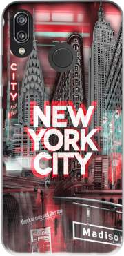 New York City II [red] Case for Huawei P20 Lite / Nova 3e