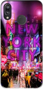 New York City - Broadway Color Case for Huawei P20 Lite / Nova 3e