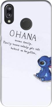 Ohana Means Family for Huawei P20 Lite
