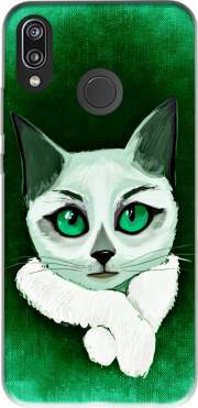 Painting Cat Huawei P20 Lite / Nova 3e Case
