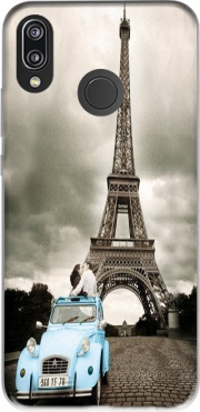 Eiffel Tower Paris So Romantique Case for Huawei P20 Lite