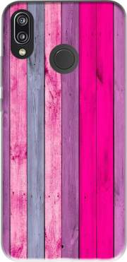 Pink wood Case for Huawei P20 Lite
