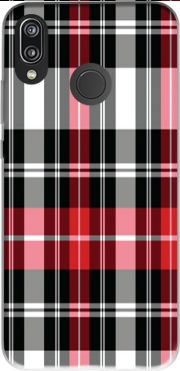 Red Plaid Case for Huawei P20 Lite / Nova 3e