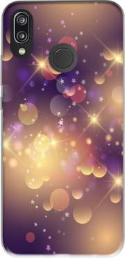 Purple Sparkles Case for Huawei P20 Lite