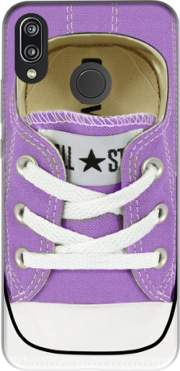 All Star Basket shoes purple Case for Huawei P20 Lite