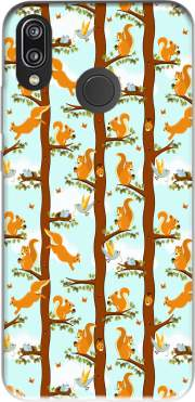 squirrel party Case for Huawei P20 Lite / Nova 3e