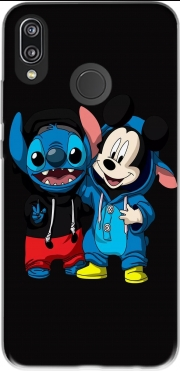 Stitch x The mouse Case for Huawei P20 Lite