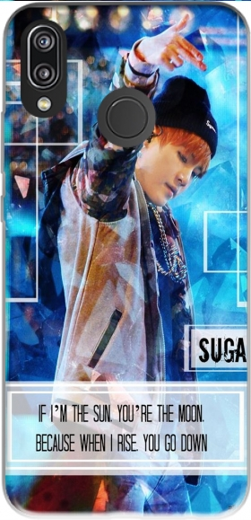 Case Suga BTS Kpop for Huawei P20 Lite