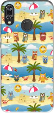 summer owls Case for Huawei P20 Lite / Nova 3e