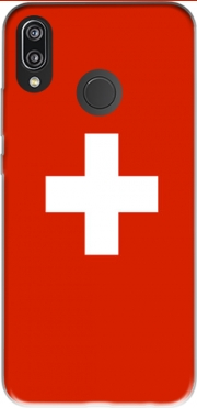 Switzerland Flag Case for Huawei P20 Lite / Nova 3e