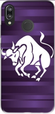Taurus - Sign of the zodiac Case for Huawei P20 Lite