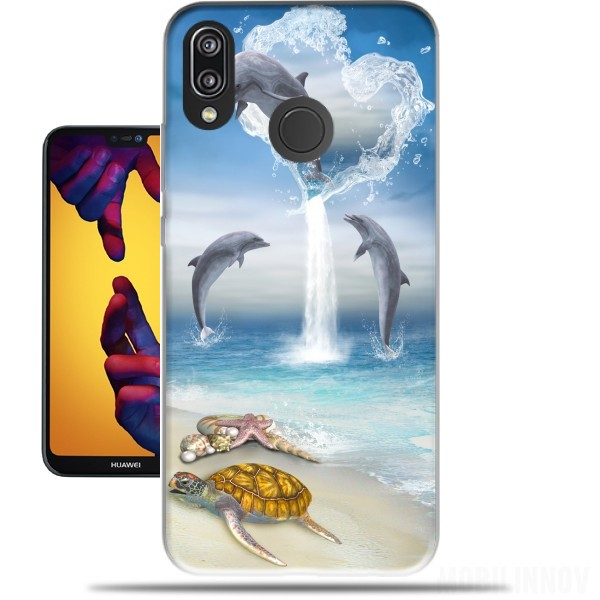 Case The Heart Of The Dolphins for Huawei P20 Lite / Nova 3e