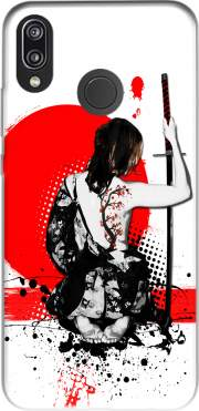 Trash Polka - Female Samurai Case for Huawei P20 Lite / Nova 3e