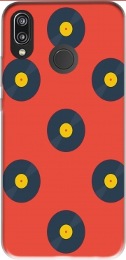 Vynile Music Disco Pattern Case for Huawei P20 Lite / Nova 3e