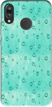 Water Drops Pattern Case for Huawei P20 Lite / Nova 3e
