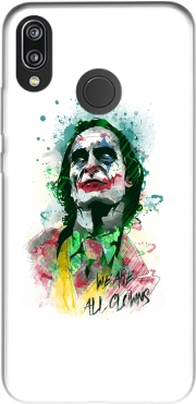 Watercolor Joker Clown Case for Huawei P20 Lite / Nova 3e