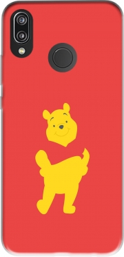 Winnie The pooh Abstract Case for Huawei P20 Lite