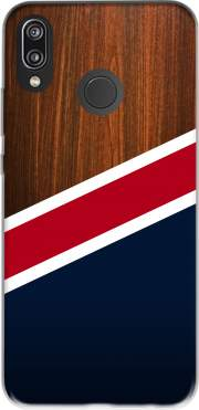 Wooden New England for Huawei P20 Lite