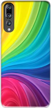Rainbow Abstract Case for Huawei P20 Pro / Plus