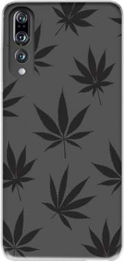Cannabis Leaf Pattern Case for Huawei P20 Pro / Plus
