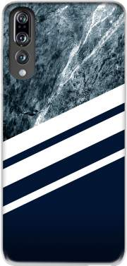 Marble Navy Case for Huawei P20 Pro / Plus
