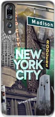 New York City II [green] Case for Huawei P20 Pro / Plus