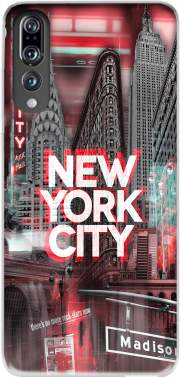 New York City II [red] Case for Huawei P20 Pro / Plus