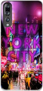 New York City - Broadway Color Case for Huawei P20 Pro / Plus