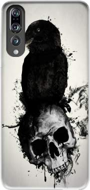 Raven and Skull Case for Huawei P20 Pro / Plus